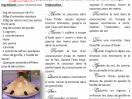 Recettes cuisine 2013