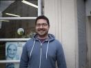 Marek Duga, éducateur SLEA, Olivier des sages. K-fé social. Lyon, 2013