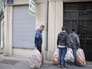 Distribution alimentaire, Olivier des sages. K-fé social. Lyon, 2013