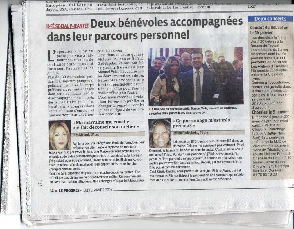 Le Progres 02.01.2014