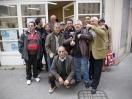 Coupe de pétanque, l'équipe. Olivier des sages. K-fé social. Lyon, 2013