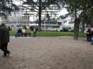 Concours de pétanque, Olivier des sages. K-fé social. Lyon, 2013